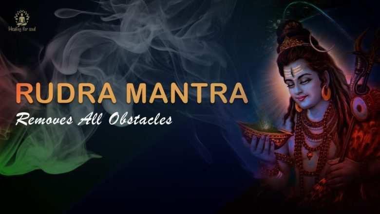 Powerful Shiv Mantra – Om Namo Bhagwate Rudraaya   108 Times With Lyrics   REMOVES ALL OBSTACLES